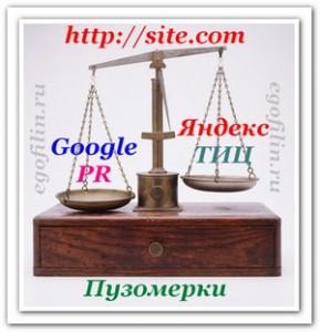 ТИЦ и PR сайта