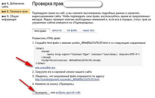 Yandex Webmaster4