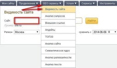 сайт аудитор проверить позиции сайта